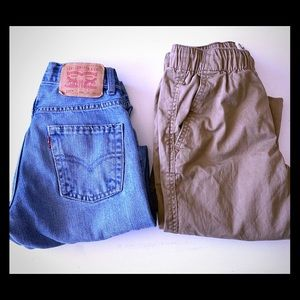 Bundle of 2 - size 10 youth pants
